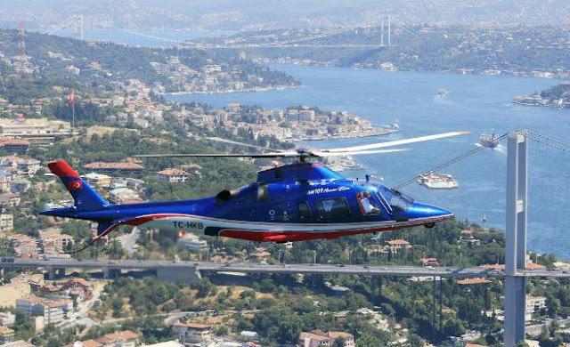 helikopter doğum günü sürprizi