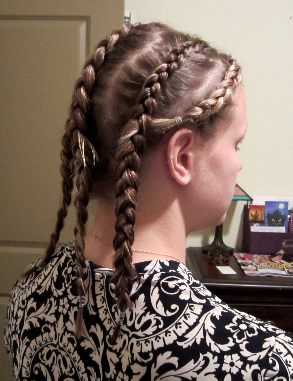 bye bye beehive │ a hairstyle blog: headband braid.