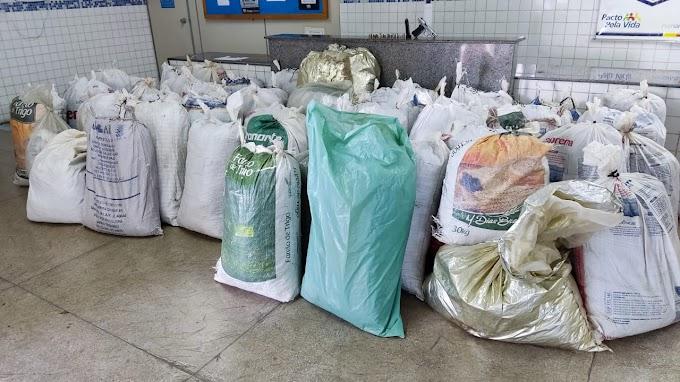 Grande carga de maconha apreendida no sertão de Pernambuco