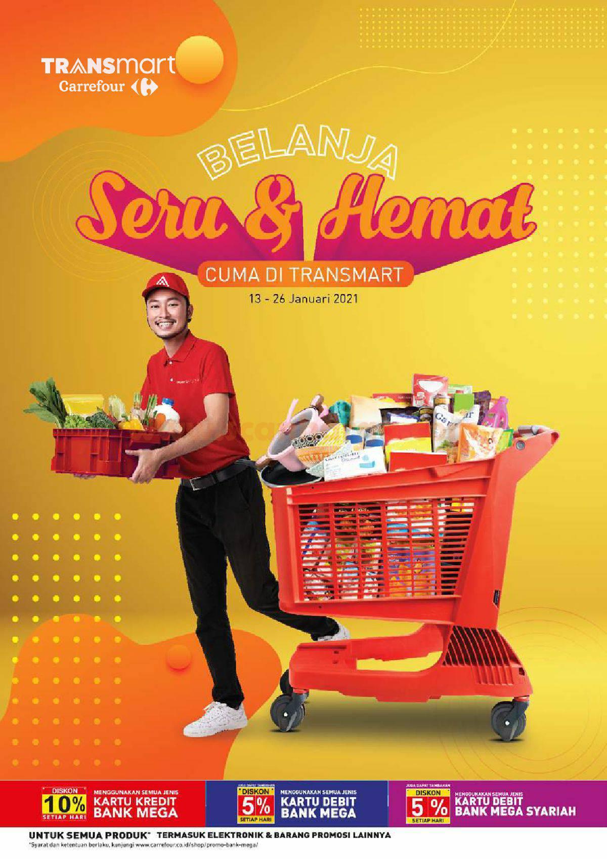 Katalog Promo Carrefour Transmart 13 - 26 Januari 2021 1