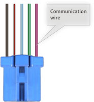 hondash dlc connector 5 pin detail
