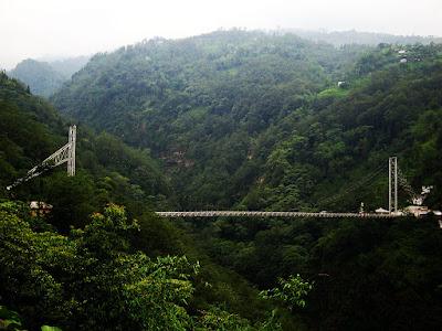Singhshore bridge, Sikkim