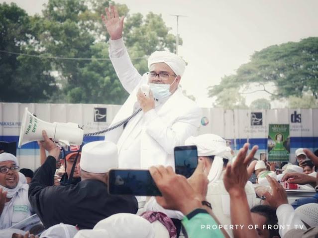 Habib Rizieq: Kita Bukan Memusuhi Pemerintah tapi Musuhi Segala Bentuk Kejahatan