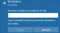 Collegare il PC al wifi senza password