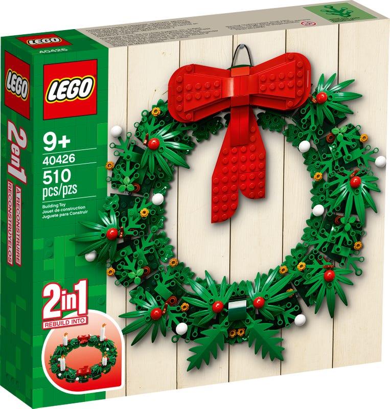 【レゴアイコニック】クリスマスリース 2-in-1 V29 40426