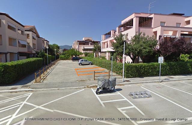 due posti auto - appartamanto in vendita alle case rosa Castiglione della Pescaia