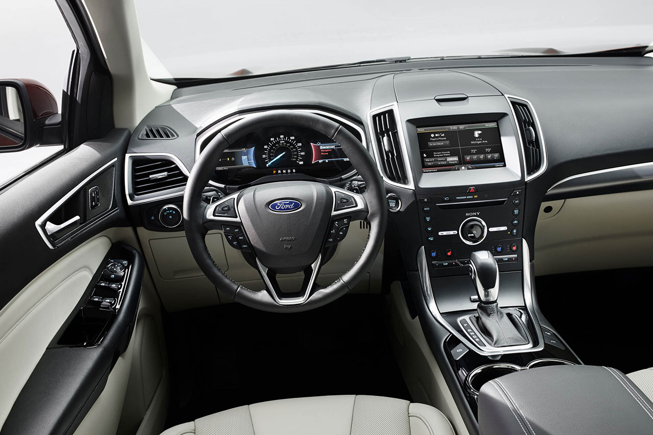 Ford Edge dash