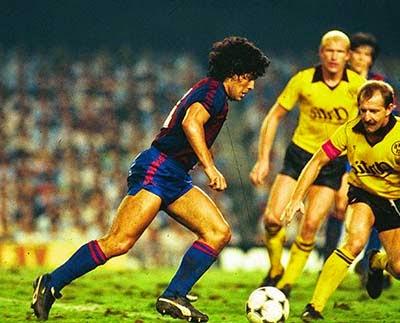 Maradona di Barcelona