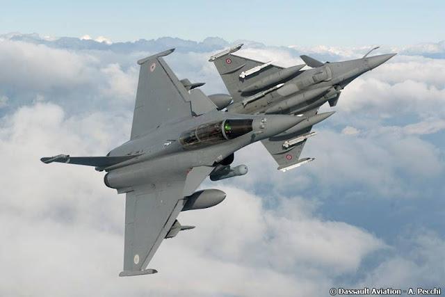 Switzerland selects Dassault Rafale