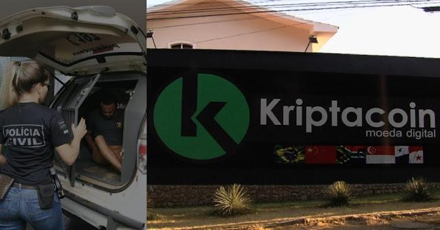 Pirâmide financeira Kriptacoin Moeda virtual falsa foi usada por quadrilha  no DF e em Goiás.