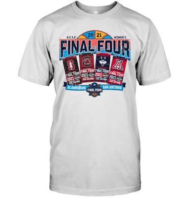 Uconn Huskies 2021 Women's Final Four Alamo Tickets T Shirts