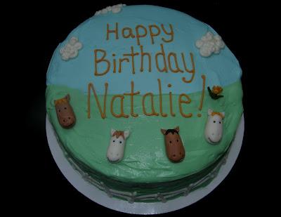 Mrs Lydia S Kitchen Natalie S Pony Birthday Cake
