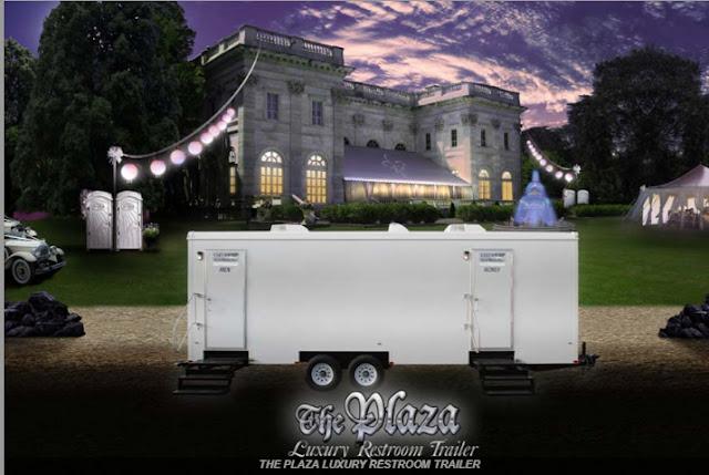 Restroom Trailer Rental - The Plaza