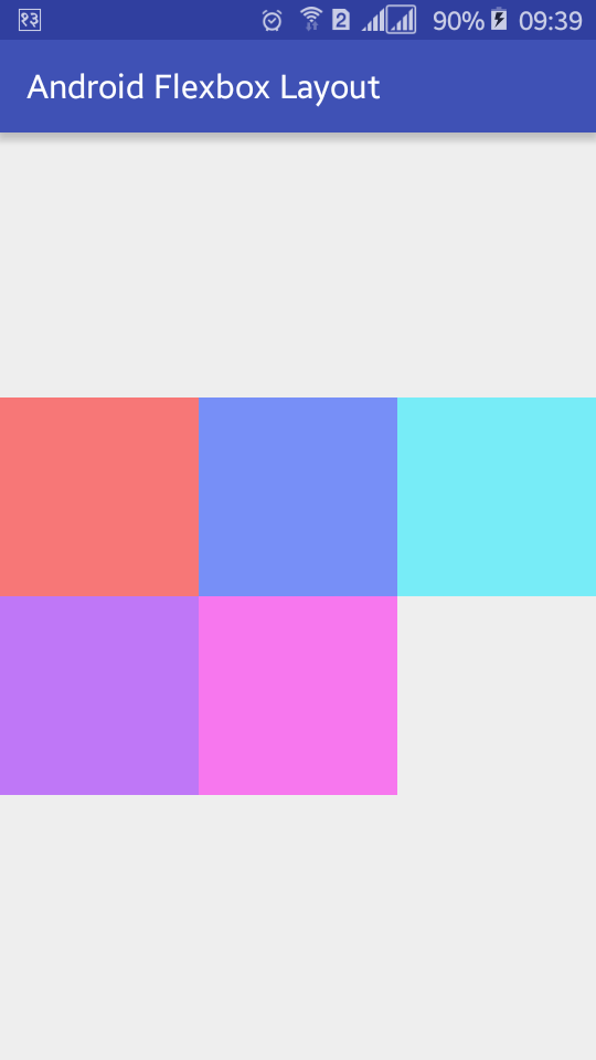Android Flexbox Layout Example