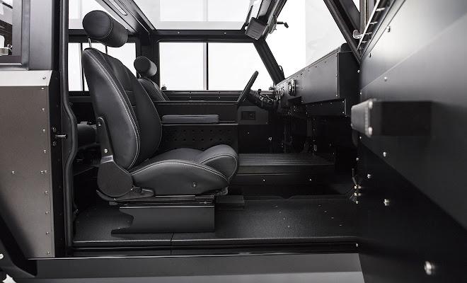 Bollinger Motors B1 front interior