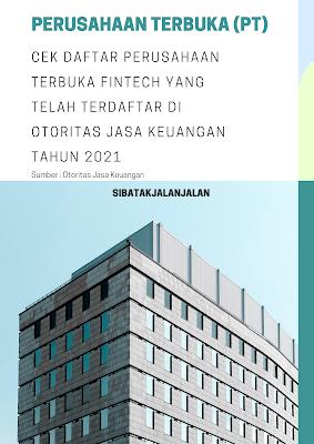 cek daftar perusahaan terbuka fintech yang telah terdaftar di ojk 2021