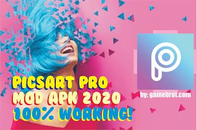 PicsArt Pro MOD APK 2020 Versi Terbaru