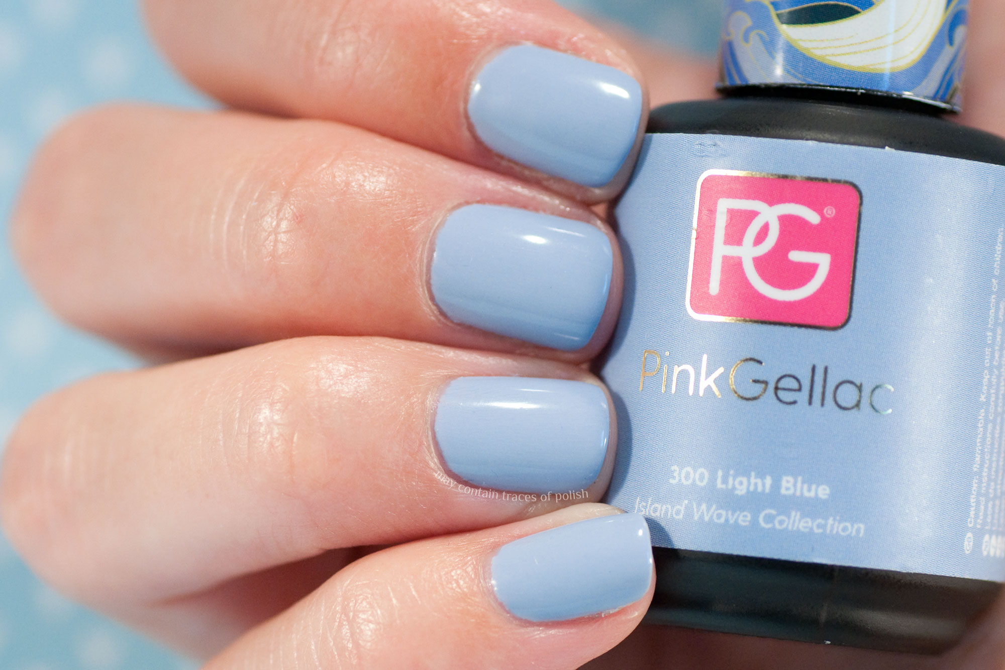 Pink Gellac 300 Light Blue - Island Wave Collection