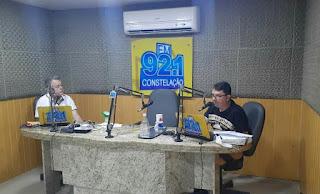 Jade  filho em entrevista na constelação FM presta homenagem ao saudoso Dr Zenóbio Toscano.