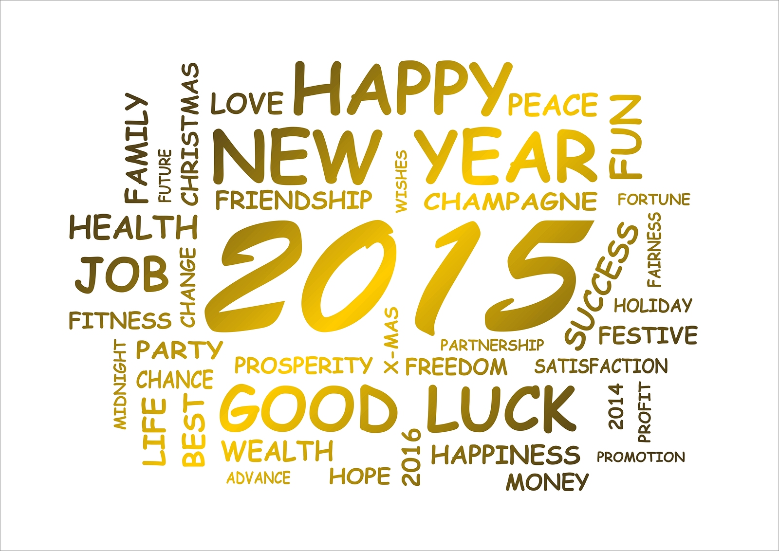 wishing you your families a very happy new year look forward to a bigger brighter joyful happy healthy and more insightful 2015