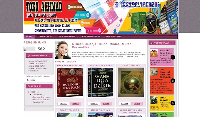 Toko Online Blogger - Toko Akhmad -