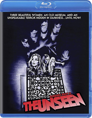 Blu-ray Cover for Scorpion Releasing/Kino Lorber's Blu-ray of THE UNSEEN!