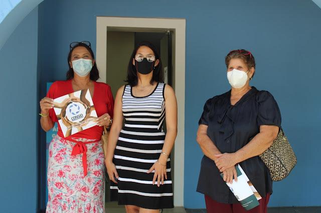 Vereadora Carmélia da Mata visita escritório do CONSID