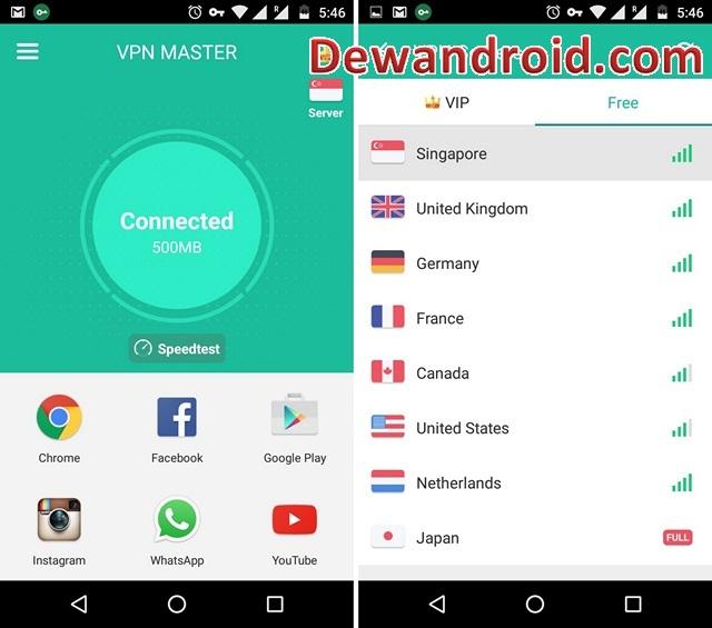 VPN Master Premium Apk Full