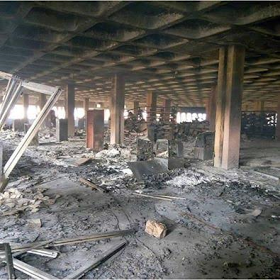University of Jos Students Whose Exam Scripts Got Burnt In Library Inferno to Rewrite Their Papers 2
