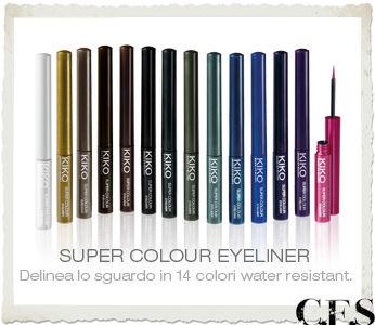 Super Colour Eyeliner KIKO Active Colours