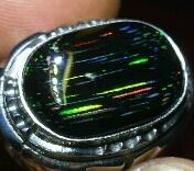 black opal porselen