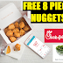 FREE FOOD AT CHICK-FIL-A! Get a Free 8 Piece Chicken Nuggets or Free Kale Crunch Side Salad.