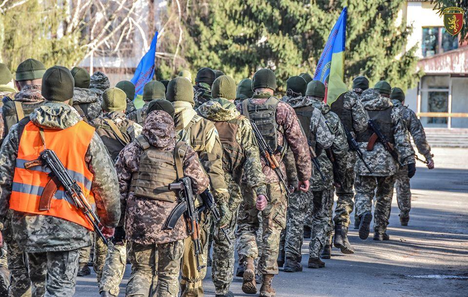 Навчальний марш військового підрозділу