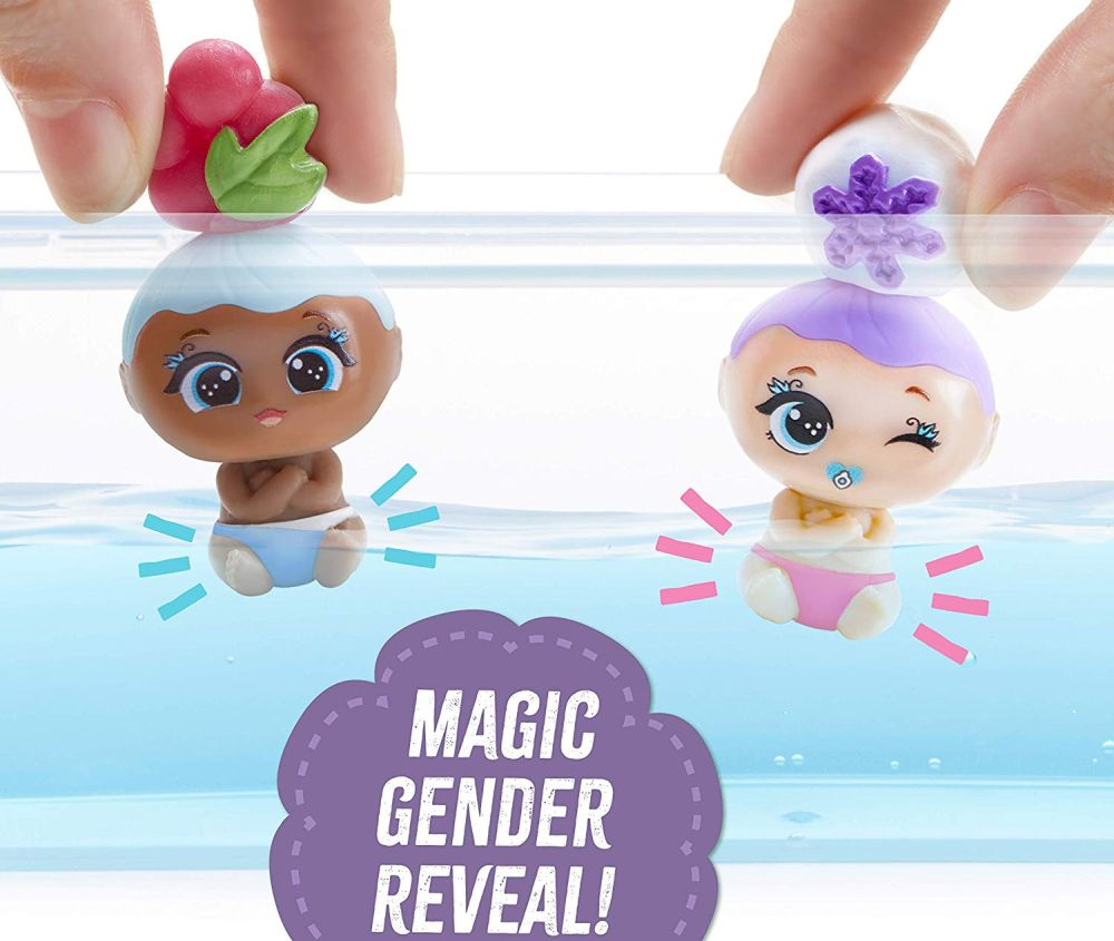 Куклы меняющие цвет в воде Блум 25 сюрпризов Blume Baby Pop