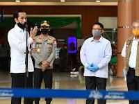 Presiden Tinjau Kesiapan Pelaksanaan Menuju Tatanan Baru di Bekasi
