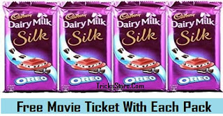 Paytm Free Movie Voucher With Cadbury Silk