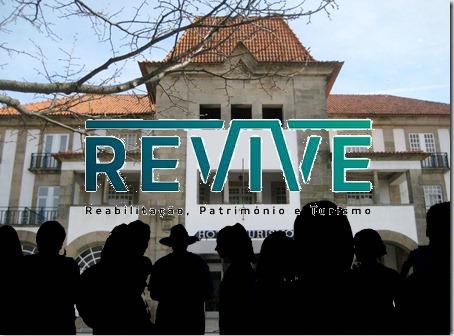 Imagem do Hotel Turismo da Guarda com a Imagem Corporativa do Programa Revive