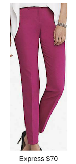 Sydney Fashion Hunter - She Wears The Pants - Express Pink Women's Work Pants