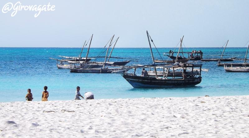 Spiagge bianche Zanzibar