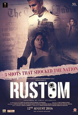 Rustom 2016 Full Movie Hindi 700MB HD 720p Download