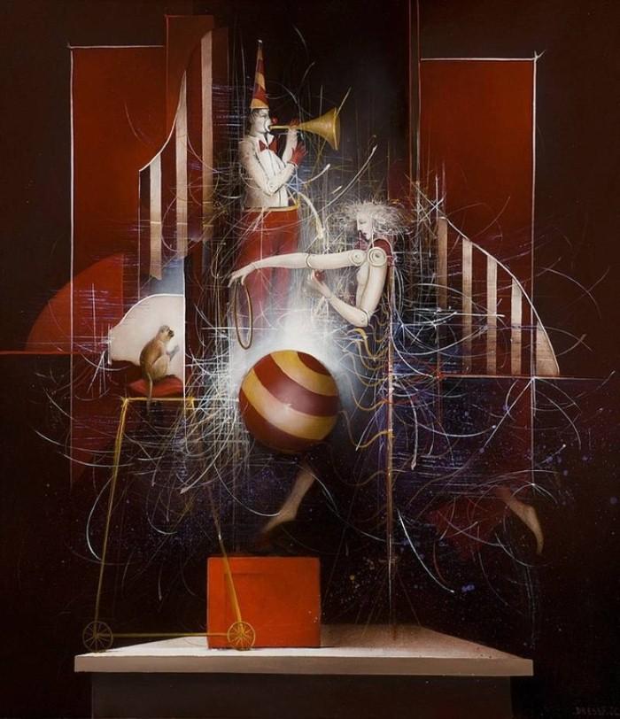 Современные художники Бельгии. Jean-Claude Dresse 13