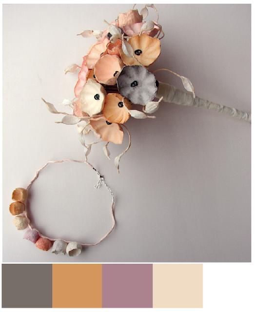 matrimonio green  2018 palette colori : grigio , di Alessandra Fabre Repetto