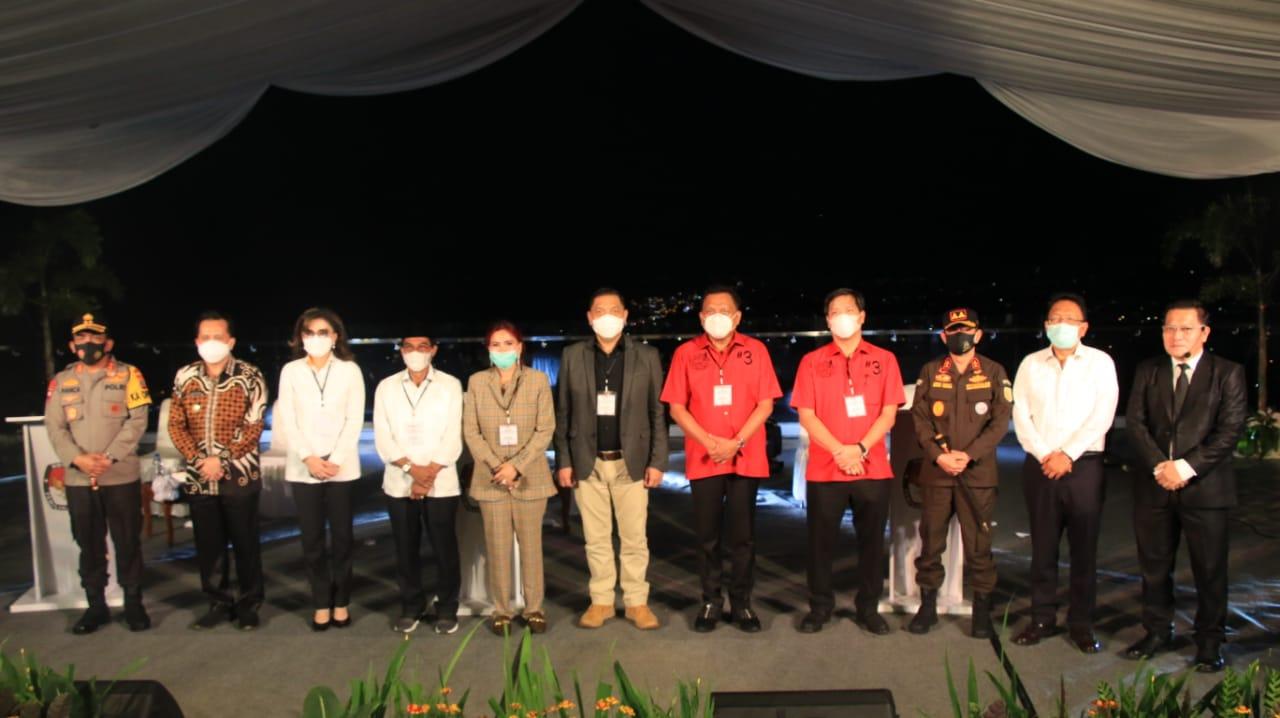 Pjs Gubernur Agus Fatoni Apresiasi KPU Usung Tema Utama Penanganan Covid 19 di Debat Pilkada Sulut