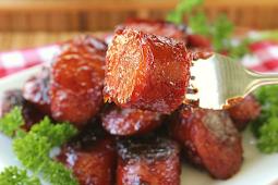 BBQ Smoked Sausage Bites #dinnerrecipe #food #amazingrecipe