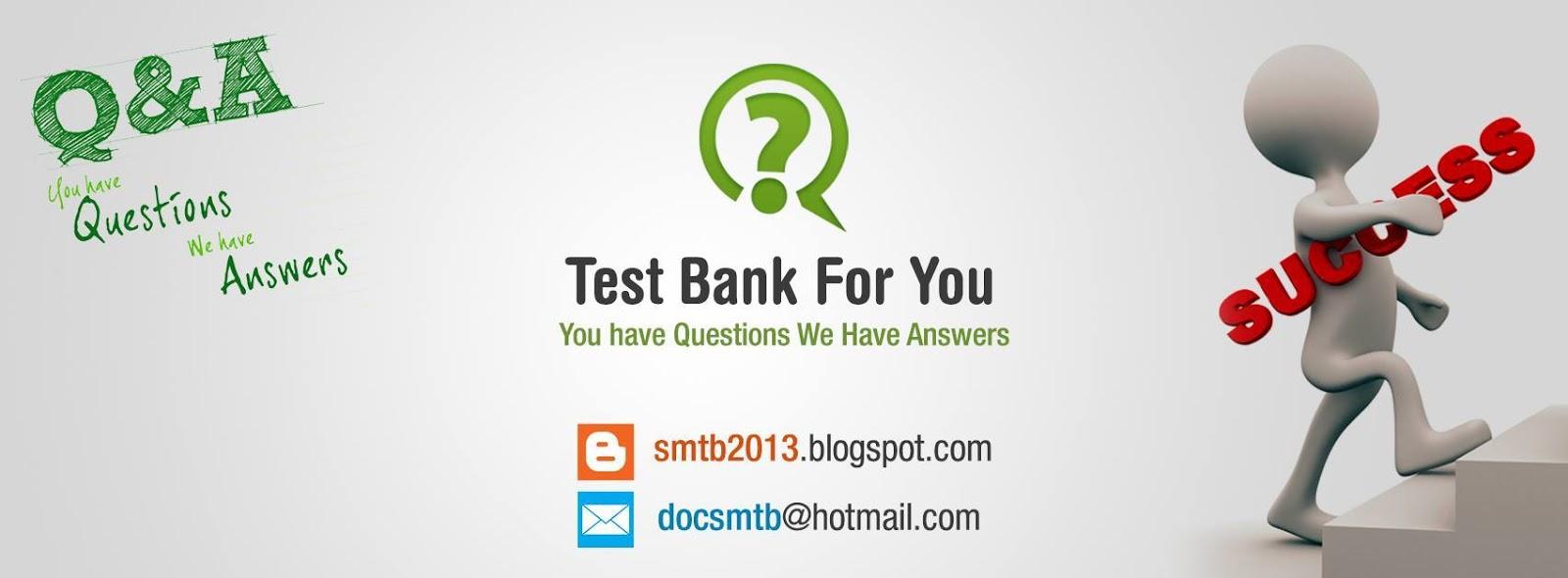 solution manual test bank rh smtb2013 blogspot com Starting a Blog
