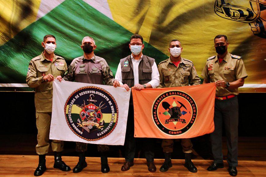 Governo de Rondônia entrega certificados a bombeiros militares durante formatura do curso de Nivelamento de Incêndio Florestal
