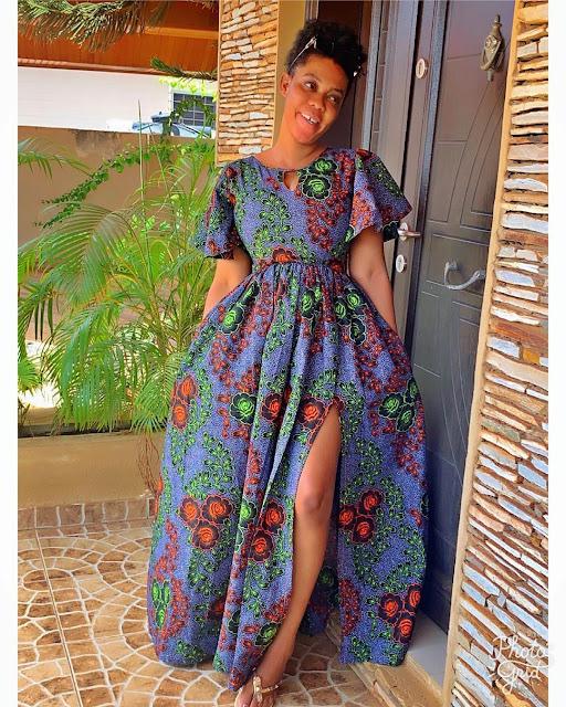 2020 African dresses: Elegant Ankara Long Gown Styles