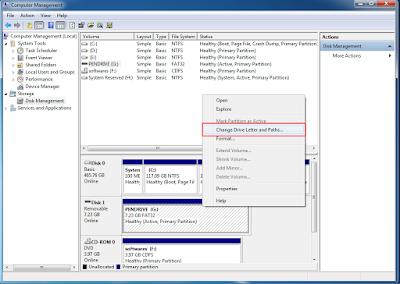 Cara Perbaiki Flashdisk Memory dan Pen Drive Rusak Corrupted - Changing the Drive Letter 3 0