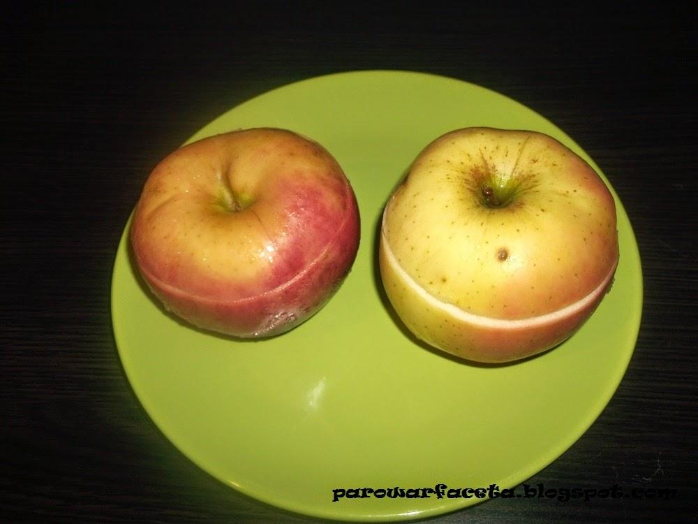 Bakaliowe jabłka z parowaru