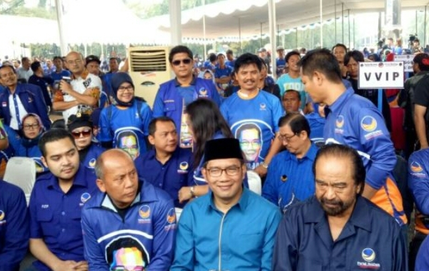 Golkar-PDIP Ogah Dukung Emil, Kata Nasdem: Kan Masih ada PPP, PKB, PAN, Hanura, Demokrat